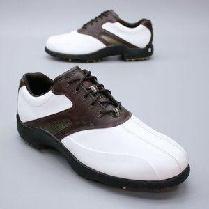 FootJoy FJ Men's 12 M Super Lites White Brown Leat